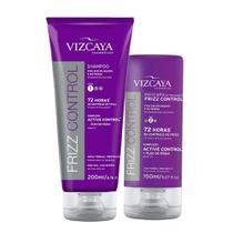 Kit Duo Shampoo + Máscara Frizz Control - Vizcaya
