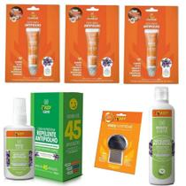 Kit Easy Care Combate Antipiolho e Lendeas -