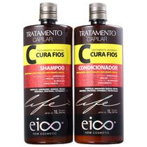 Kit Eico Life Cura Fios Duo (2 Produtos) -