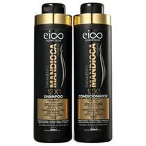 Kit Eico - Mandioca Shampoo 800ml+Condicionador 800ml -