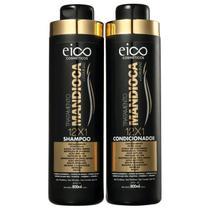 Kit Eico Seduction Mandioca Shampoo + Condicionador 2x800ml -