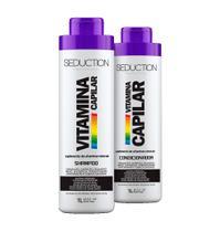 Kit Eico Seduction Vitamina Capilar Shampoo, Condicionador -