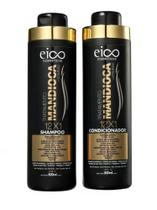 Kit Eico Shampoo e Condicionador Mandioca 800ml cada - Seduction