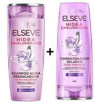Kit Elseve Hidra Hialuronico Shampoo + Condicionador 200ml - L'Oreal Paris