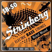 Kit Encordoamento Strinberg 5 Cordas SB50 + Violão Nig N420 -