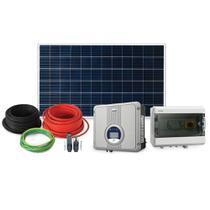 Kit Energia Solar Fotovoltaica Micro Inversor 600W Placa de 320W On Grid Estrutura Metálica-Elgin -