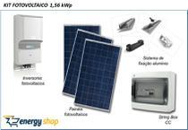 Kit Energia Solar Grid Tie 30,0KW - Energy shop