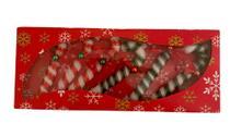 Kit Enfeite Natal Bengala  decorada Ref:5316-2 c/ 06 unids - Natal Brasil