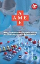 Kit Enfermagem: Ame Dicionário de Administração de Medicamentos  10ª Edição + Terminologia na Enfermagem+ Bolsa JRMED - Editora martinari