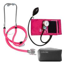 Kit Enfermagem Aparelho De Medir Pressão E Esteto Duplo - PAMED