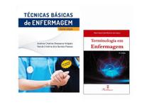 Kit Enfermagem: Técnicas Básicas De Enfermagem + Terminologia Em Enfermagem - Editora martinari