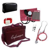 Kit Enfermeiro Técnico de Enfermagem com Bolsa Personalizada - Pamed