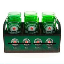 Kit Engradado C/ Estampa Temática Heineke - verde - Hypem