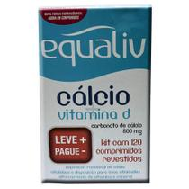 Kit Equaliv Cálcio + Vitamina D 2 Unidades de 60 comprimidos revestidos - Althaia