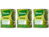 Kit Ervilha em Conserva Knorr 3 Unidades 170g Cada -