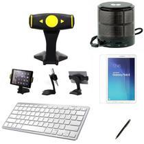 "Kit Escola para Samsung Galaxy Tab E T560/T561 9,6"" Suporte/Can/Pel/Teclado/Mini Speaker - Global Cases"