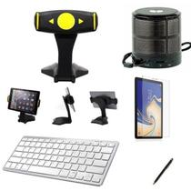 Kit Escola para Samsung Galaxy Tab S4 T830/T835 Suporte/Can/Pel/Teclado/Mini Speaker - Global Cases