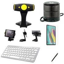 "Kit Escola para Samsung Galaxy Tab S5e T725 10,5"" Suporte/Can/Pel/Teclado/Mini Speaker - Global Cases"