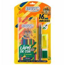 Kit escolar+lapis/lapis de cor/borracha/apontador kt1005 / un / brw -