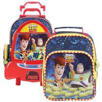 0ac3a3240 Kit Escolar Mochila Toy Story e Lancheira Dermiwil -