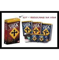 Kit Escolhas da Vida - Acompanha 1 Cd, 1 Dvd, 1 Folder, 1 Livreto - Bv films - livros