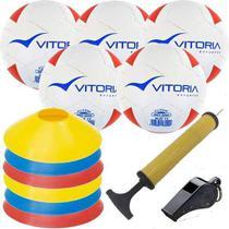 Kit Escolinha De Futsal Sub 13 Bola Max 200 + Acessórios - Vitoria Esportes