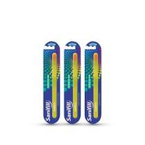 Kit Escova de Dentes Sanifill Infinite Macia 3 unidades -