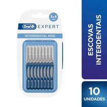 Kit Escova Dental Oral B Expert Interdental Mini Com 10Unidades - Oral -B