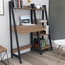 Kit escritório Completo Urban - Castanho/Preto - Appunto -
