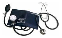Kit Esfigmomanômetro Aparelho Pressão + Estetoscopio Premium -