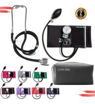 Kit Esfigmomanômetro + Esteto Duplo PAMED Com Garantia de 2 Anos - G-Tech