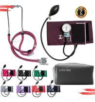 Kit Esfigmomanometro + Estetoscopio Duplo - G-Tech