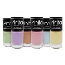 Kit Esmalte Anita Xo Pandemia - 6 cores -