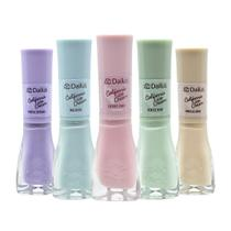 Kit Esmalte Dailus California Ice Cream 5 Cores 8ml