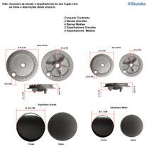 Kit espalhadores + bacias p/ fogões electrolux 6 bocas 76 sm -