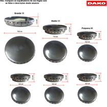 Kit espalhadores em aluminio fogão dako diplomata antigo 6bc -