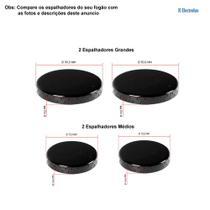 Kit espalhadores esmaltados p/ fogões electrolux 4 bocas 50 er -