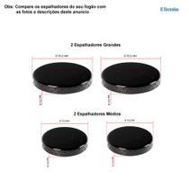 Kit espalhadores esmaltados para fogões electrolux 4 bocas 52 rxl -