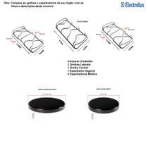 Kit espalhadores + grelhas para fogões electrolux 5 bocas 76 sbc -