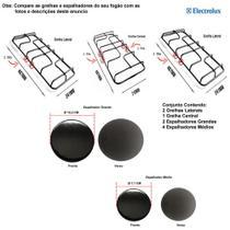Kit espalhadores + grelhas para fogões electrolux 6 bocas 76 sm -