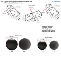 Kit espalhadores + grelhas para fogões electrolux 76 bs -