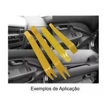 Kit Espatula Nylon Desmontar Painel Moldura Grampos Carros - 4 Peças - Autoplast