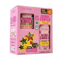 Kit Especial Desmaia Cabelo Forever Liss - Shampoo 300mL e Máscara 200g - Forever Liss Professional