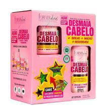 Kit Especial Shampoo e Máscara Forever Liss Desmaia Cabelo -