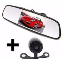 Kit Espelho Retrovisor Com Tela 4,3 Polegadas + Câmera de Ré - Power Hid.