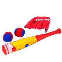 Kit Esportivo Infantil Baseball 4 Peças - Akt