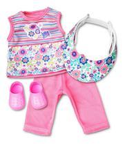Kit Esportivo Para Baby Alive - Hasbro - Laço de Fita -