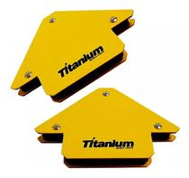Kit esquadro magnético para solda serralherio 2pç 12kg 4325 titanium - Cds