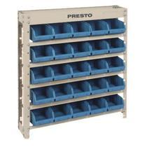 Kit Estante Presto 6101A 25/3, com 25 Gavetas, Azul -