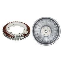 KIT Estator + Sensor + Rotor do Motor Lavadora e Lava e Seca LG WD-1403FD, WD-1403RD, WD-1409RD -
